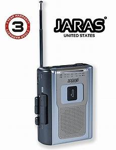 cassette player portable jaras limited edition portable am fm radio personal