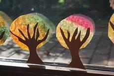 Herbst Basteln Kinder Fenster - basteln mit kindern im herbst an unserem fenster
