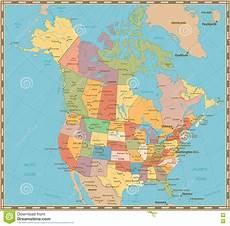 canada color map vector cartoondealer 6342147