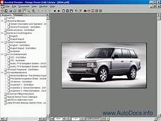 old car repair manuals 2003 land rover freelander on board diagnostic system range rover new range rover defender discovery ii