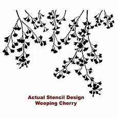Weeping Cherry Wall Stencil Arched Wall Decor Pier One