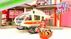 playmobil hubschrauber playmobil rettungs helikopter