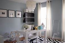 the wall color home office with blue gray paint color benjamin smoke favorite places