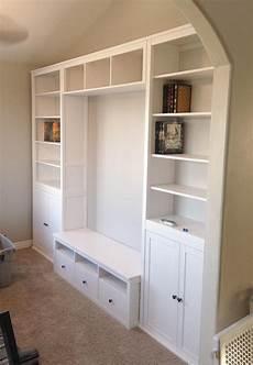 hemnes living room storage combo secretary add on units