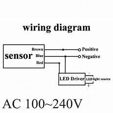 10m rf outdoor switch security pir infrared motion sensor detector l 100 240v ebay