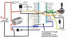 how to build a simple pwm dc motor speed controller using atmega8 microcontroller mosfet and