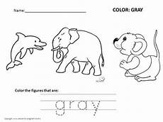 color gray worksheets for preschool 12862 free preschool worksheets for learning colors advice for