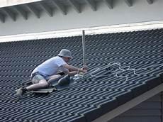 sat anlage montieren ilfer bau satan auf dem dach
