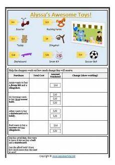 money worksheets change 2229 calculating change money shopping worksheet money worksheets money math activities money
