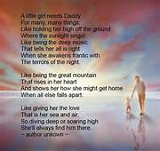 Fathers Day Poem  A Little Girl Needs Daddy