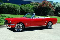 The Best And Most Comprehensive 65 Mustang Convertible Red