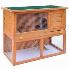 outdoor rabbit hutch small animal house pet cage 1 door