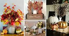 Thanksgiving Home Decor Ideas 2019 by 18 Best Diy Thanksgiving Centerpiece Ideas And Decorations