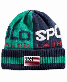 polo ralph polo sport colorblocked hat green navy