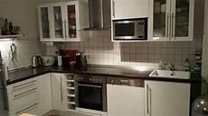 ikea küchen gebraucht ikea k 252 che hochglanz wei 223 valdolla