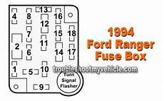 1994 ranger fuse box diagram instrument panel fuse box 1994 ford ranger