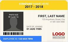 how to make id card template in word 10 best staff id card templates ms word microsoft word
