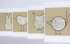 Recycling Mit Zeitung Paper Karten Selber Basteln