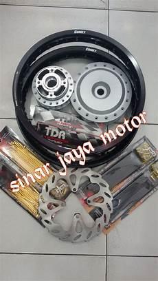 Harga Velg Babylook Beat by Jual Paketan Velg Jari Jari Tromol Cakram Ring 14 Motor
