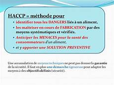ma 206 trise des dangers haccp ppt t 233 l 233 charger