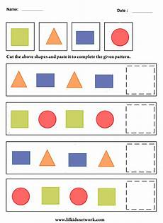 shapes pattern worksheets kindergarten 1167 shape pattern worksheet for preschooler t pattern worksheet preschool worksheets