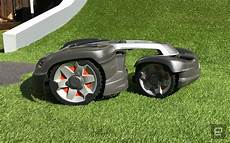 can t stop this all wheel drive robot lawn mower