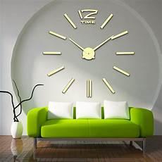 Wall Clock Acrylic Mirror Sticker Self by Mq 001 Acrylic Mirror Sticker Quartz Diy Wall Clock Home