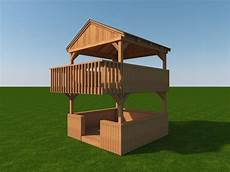 build your own cubby house plans build your own 2 story playhouse fort diy plans fun to