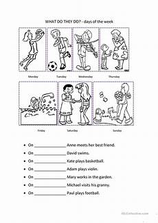 free worksheets days of the week 18254 days of the week worksheet free esl printable worksheets made by teachers