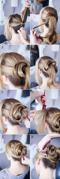 15 simple step by step hairstyles 15 easy step by step hairstyles for long hair