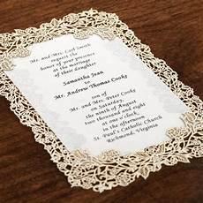 laser cut gold wedding invitations vintage laser cut invitation kit 10pk party pinterest