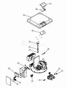 pentair mastertemp 125 heater burner system parts inyopools com