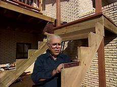 How To Add Stairs To Your Deck