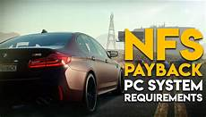 Need For Speed Payback Pc System Requirements Revealed