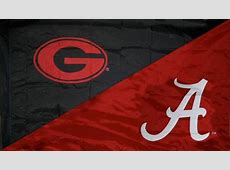 alabama vs georgia football record