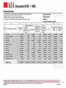 aia g703 fill online printable fillable blank pdffiller