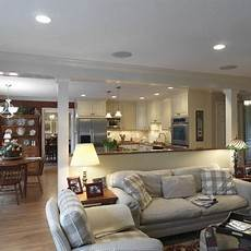living and open area living and dinning room design pictures