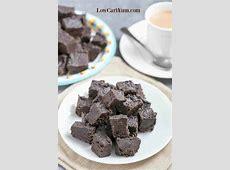 chocolate cream cheese low carb fudge_image