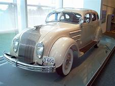 1934 Chrysler Airflow At The Walter P Museum
