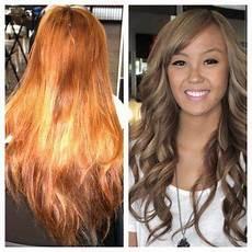 blonde hair color ash light brown over orange ash brown over orange hair google search hair brassy hair hair color techniques hair styles