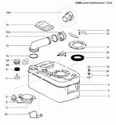Caravansplus Spare Parts Diagram Thetford C200