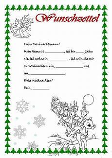 Kostenlose Malvorlage Wunschzettel Weihnachten Wunschzettel Brief Vom Weihnachtsmann Wunschliste