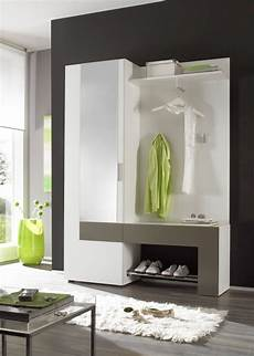 Garderoben Set Günstig Kaufen - back garderobe garderobenset weiss anthrazit interior in