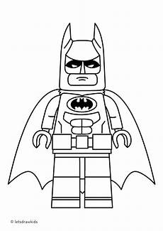 coloring page for lego batman from the lego batman
