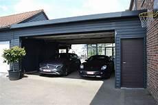 abri voiture moderne carport en bois abri pour voiture sur mesure concept