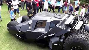 TUMBLER BATMANS UNREAL SUPERCAR START UP And DRIVE 2013