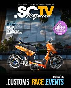 magasin scooter news sctv custom scooter magazine december edition free