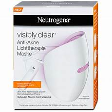 neutrogena lichttherapie maske neutrogena visibly clear lichttherapie maske