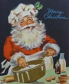 vintage santa cooking chef crafty 2 the core diy galore