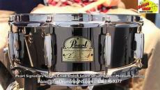 chad smith snare pearl signature series chad smith snare drum 5x14 the drum shop shore